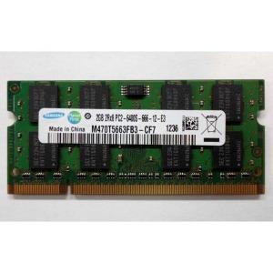 삼성 노트북램 메모리 DDR2 2G PC2-5300S PC2-6400S