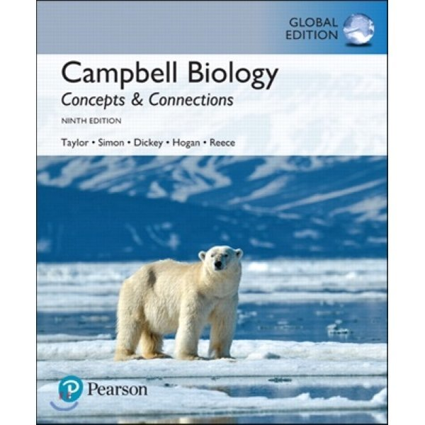 Campbell Biology  9 E (Global Edition) : Concepts   Connections  Martha R  Taylor  Eric J  Simon ...