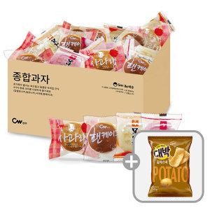 종합과자 모나카+그랑쉘+팬케이크 0.8kg/단독상품 - 상품 이미지