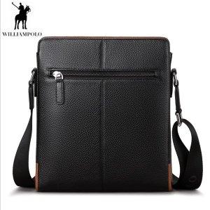WilliamPOLO-009D(블랙) 남성클러치백 손가방 크로스백