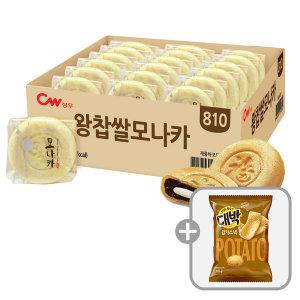 청우 왕찹쌀 모나카 27개입 810g/과자/간식/팥/찰떡 - 상품 이미지