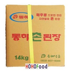 동해식품 동해촌된장14kg / 콩된장14kg찌개된장