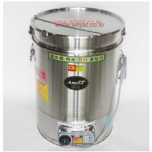 한양금속 업소용 박스형 전기중탕기 대형(45L) 분리형