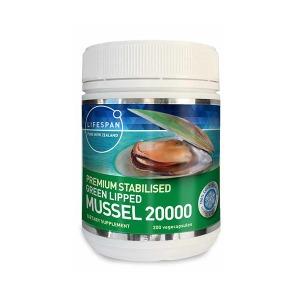 라이프스팬 뉴질랜드 초록입홍합 20000mg 200캡슐