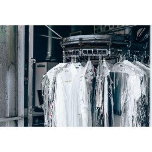100매 행거비닐 의류비닐 옷비닐 세탁소비닐 옷커버
