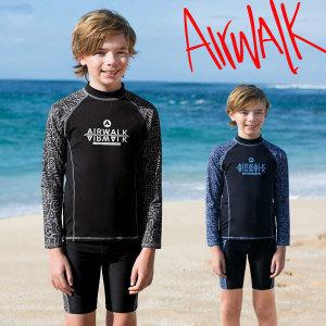 (현대Hmall)에어워크 남아동수영복2피스 래쉬가드 YAWe1841 /비치웨어/실내외겸용