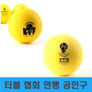 티볼공 티볼 협회 연맹 공인구 티볼공인구 공 야구공