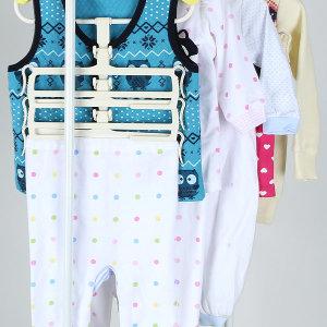 유아바지걸이3P 새싹옷걸이 아기옷걸이 유아옷걸이