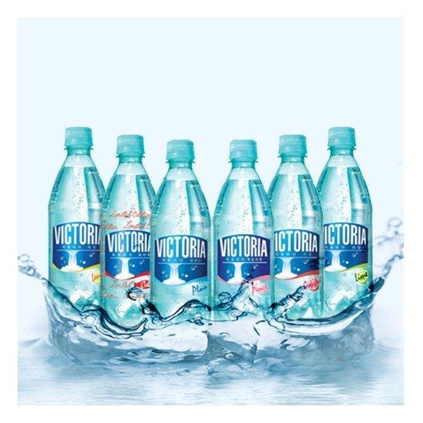 빅토리아 탄산수 탄산음료 500ml x 40페트 6종 택 2 (플레인/레몬/라임/자몽/복숭