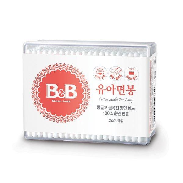 [홈플러스당일배송] (전단상품)보령_B B유아용면봉_200P