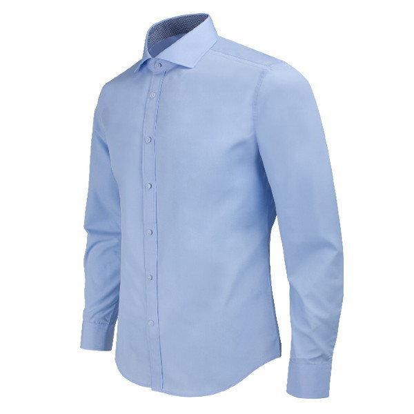 레디핏  RFBA1001_BL 와이드 스프레드 와이셔츠(파란색)_RFBA1001_BL