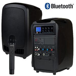 이동식 무선앰프 USB/블루투스 AT-115BN핸드마이크