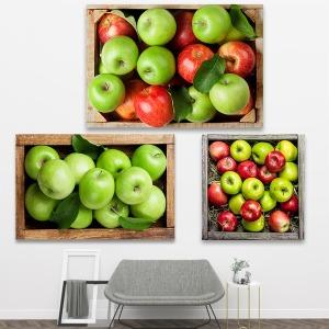 가득찬 사과그림 실내 인테리어 고급 대형 캔버스액자