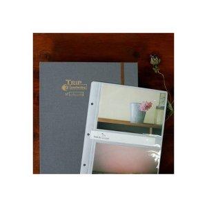 무즈앤뷰즈 4x6 JUMBO gray (200 clear inserts) 포토앨범/포켓앨