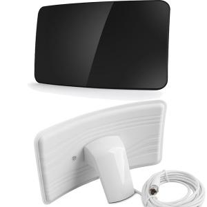 디지털TV 수신안테나 HDTV  수신기 실내형 블랙 462
