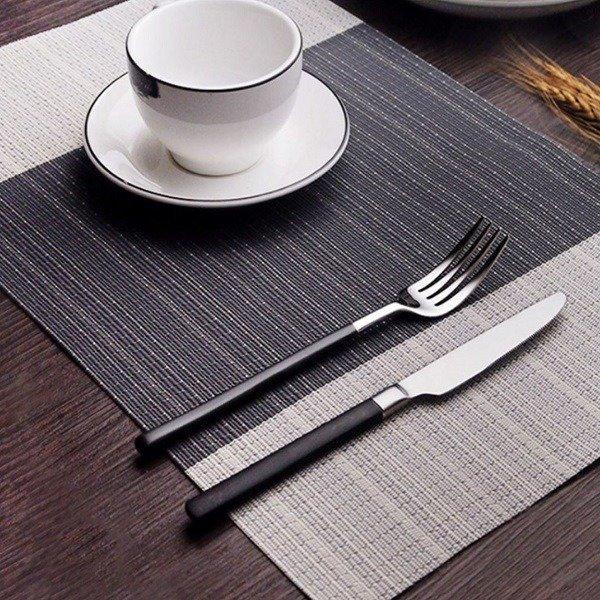 북유럽식 고급 PVC 방수 식탁 테이블 매트 깔개 패드