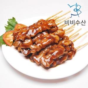숯불바베큐 닭꼬치 40개 순한맛 매운맛
