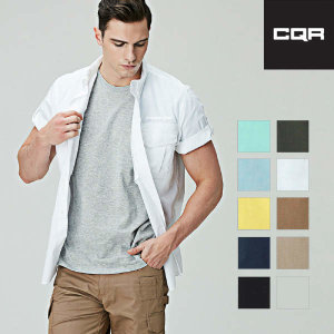 (현대Hmall)CQR 택티컬 작업복 남성 포켓 반팔셔츠 TOS401