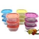 맛쿡 전자렌지용기 400mlx12세트 냉동밥보관 밀폐용기