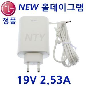 LG 19V 2.53A 3.0mm 15Z980 전원올뉴그램 파워 어댑터