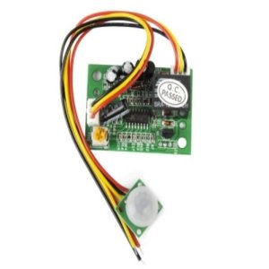 PIR 릴레이 DC12V 인체 감지 센서 모듈