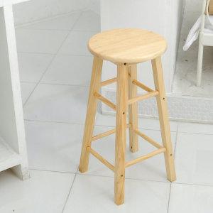 FR-C1416 원목 홈바의자 중형/ 거실 주방 식탁 의자