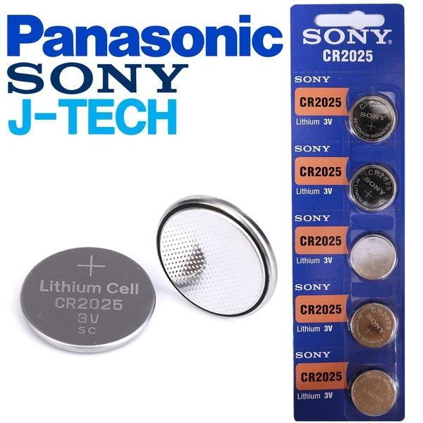 J-TECH 파나소닉 소니 CR2025 1알