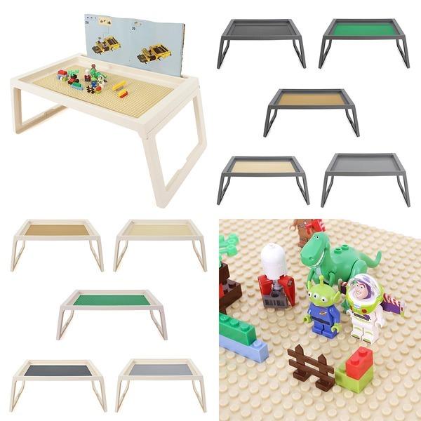 좌식형 접이식 레고책상 레고판포함 레고놀이판테이블