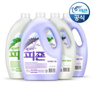 피죤 섬유유연제 3.1L 4개 / 3100ml