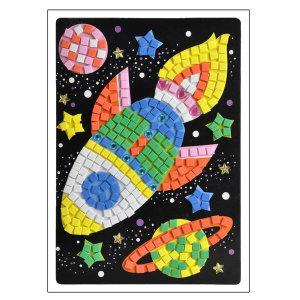 EVA 모자이크 아트 우주선 단체선물