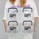 코멕스 네오박스 5L(50)X4개 리빙박스 공간 수납 박스