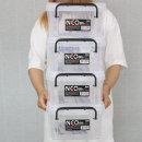 코멕스 네오박스 6L(60)X4개 리빙박스 공간 수납 박스