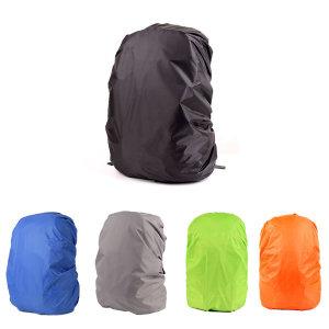배낭 방수 커버 무지/레인 백팩 가방 덮개 등산 우비
