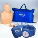 CPR마네킨 연습세트-심폐소생술모형(고급형)+전자팔찌