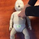 심폐소생술인형-영아용 CPR모형(프레스탄) 모니터형