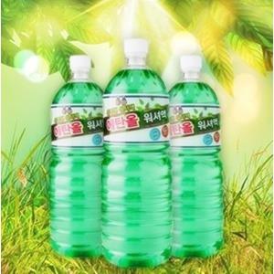 친환경 유럽형 에탄올 사계절 워셔액 1.8L 12개X박스