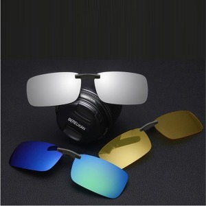 BEREUKAN  클립형 편광선글라스 안경착용자용 PCL-6