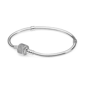 판도라  Silver bracelet with clear cubic 590723CZ-19