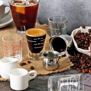 바리스타 에스프레소 스텐샷잔 커피용품 벨크리머