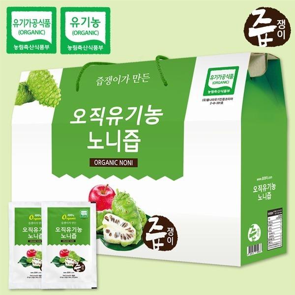 대구백화점 II관   즙쟁이 유기농 노니즙 1박스 30포