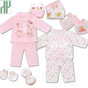 (해외배송) 신생아 영유아 출산 의류 선물 세트 18PCS