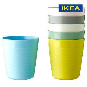 물컵 6개 / 쥬스 커피 음료 컵 캠핑용품 KALAS 파스텔