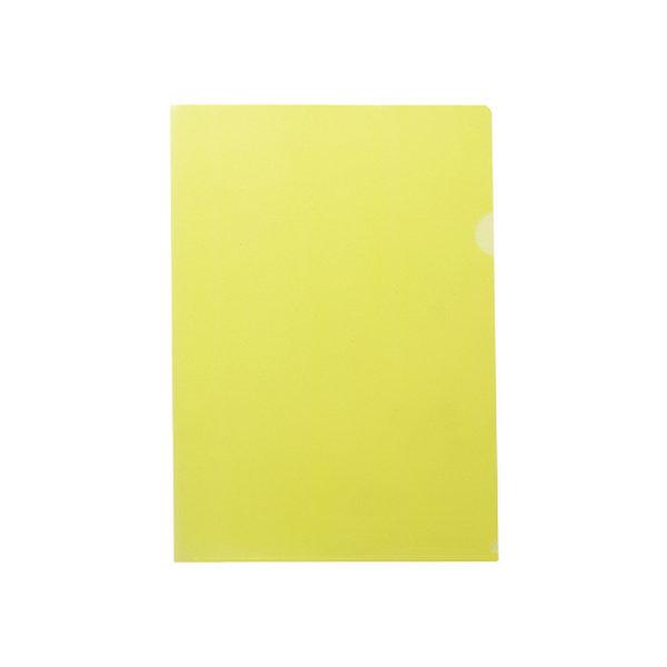 투명홀더(10개팩/노랑/OfficeDEPOT)
