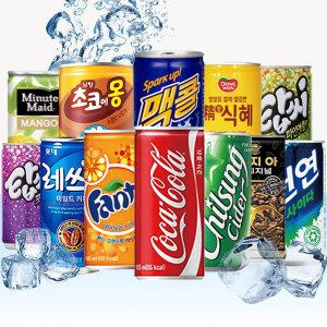 탄산음료 펩시콜라 환타 오란씨 칠성사이다 캔커피