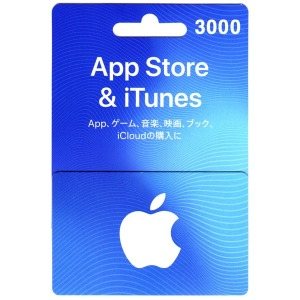 재팬샵24 - 일본 아이튠즈 기프트 카드 3000엔