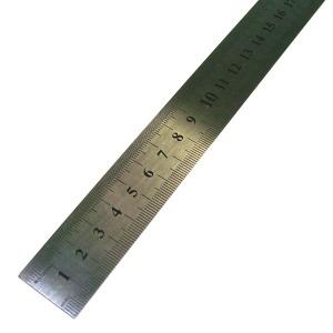 30cm 자-스틸자 쇠자 금속자 인치자