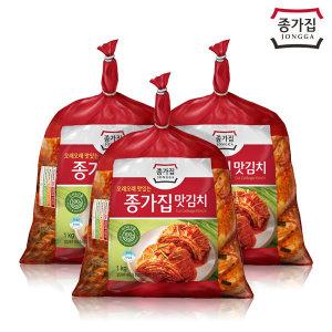 종가집 맛김치 3kg(1kg x 3) / 공식판매처