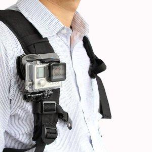 액션캠 백팩 악어 집게 클립마운트 GOPRO HERO 6 5 4