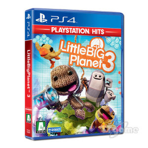 리틀 빅 플래닛3 PS4 히트 한글판 일반판.
