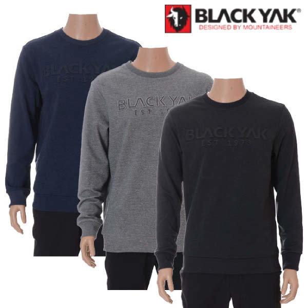 (현대백화점)블랙야크 L보노맨투맨티셔츠 남여 간절기 캐주얼라인 맨투맨티셔츠
